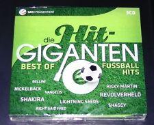 DIE HIT GIGANTEN BEST OF FUSSBALL HITS CD 65 TITEL SCHNELLER VERSAND NEU & OVP