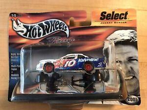 "Vintage 2001 NASCAR 1:64 Scale Diecast - #10 ""Valvoline"" -  Johnny Benson"