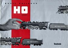 catalogo TENSHODO 4th Edition 1958 Model Railroad HO Gauge + prix FF    E     bb