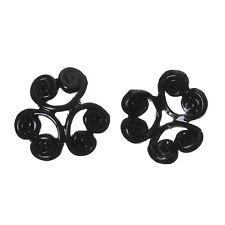 10x Perlenkappen Perlkappen Endkappen filigran Blumen für 12 mm Perlen Metall