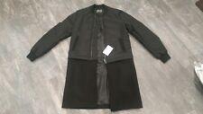 ASOS 2 in 1 zip off bomber varsity coat jacket size small