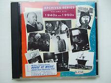 Soundtrack Compilation Archives 6 1940s and 1950s Filmmusik Produktionsmusik KPM