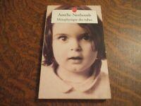 le livre de poche metaphysique des tubes - AMELIE NOTHOMB