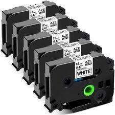 5x Compatible Brother P Touch Label Maker Tape Tze 231 Tz 231 12mm Ptd210 Pt1090
