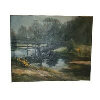 OLD NICE LANDSCAPE PAINTING SIGNED
