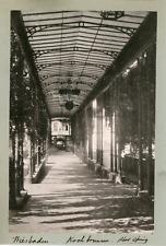 Allemagne, Wiesbaden, Jadin du Kochbrunnen, ca.1895, Vintage silver print Vintag