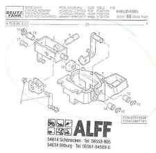Joystickgestänge für Deutz-Fahr Agrotron Traktoren (Teile, montiert) Ersatzteil