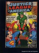 Justice League 69 Dc Comic Book 1969 Vf+