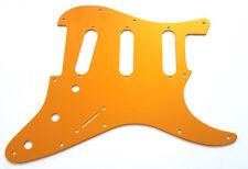 NEW PICKGUARD ANODIZED STRATOCASTER SSS alu brossé - gold/orange - pour strat