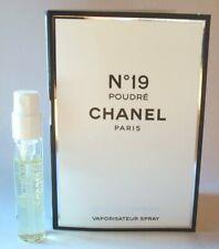 Chanel No 19 Poudre .06 oz / 2 ml Eau De Parfum Mini Vial Spray
