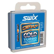 Swix Cera F Solid Wax: FC6XS: 20 grams: Packaged Wax