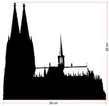 Kölner Dom Tattoo -Aufkleber, Verklebegröße: 28x26cm - 40.780