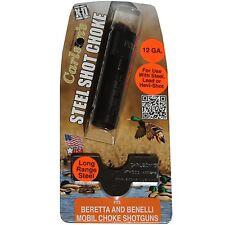 Carlson's Choke Tube 12 GA Beretta & Benelli Mobil Steel Shot Long Range #07117