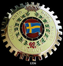 CAR GRILLE EMBLEM BADGES - SWEDISH AUTO CLUB
