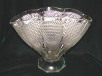 Vintage Elegant Duncan and Miller Flower Art Glass Vase