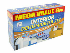 Dehumidifier Mould Damp 8 Pack Interior Hanging Tub Traps Water Moisture by 151