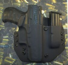 Hunt Ready Holsters: Walther PPQ M2 9mm / 40 OWB Holster with Extra Mag Carrier