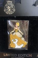 Disney Shopping Pin Gold Princess Cinderella Le 100 Tremaine Villain