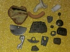 Antique pendants from the Ancient people found at the creek site.
