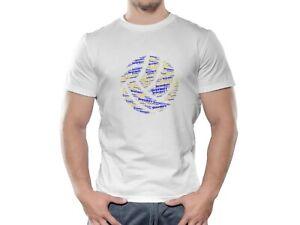 Brand New Shrewsbury Town FC Ball Design Football T shirt.  Various Sizes