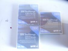 3x IBM TotalStorage LTO Ultrium 800GB Data Cartridge 1600gb/800gb LTO4 95P4436