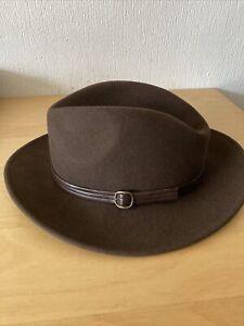 Men Hat Wool 57 Size