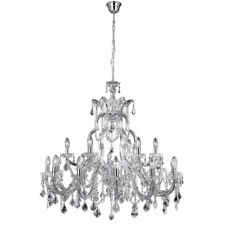 Searchlight 3314-18 Marie Therese 18 Light Chandelier Clear & Chrome