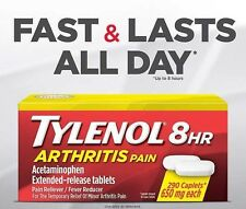 Tylenol 8HR Arthritis Pain 290 Caplets Acetaminophen Extended release tablets