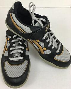 ASICS Hyper Throw 2 Track & Field (GN812) Men's Size 8.5 Gold Black Lightning