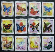 Guyana 2003 Schmetterlinge Butterflies Insekten Insects Freimarken 7578-89 MNH