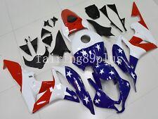 Blue White Red American Flag ABS Injection Fairing Kit for Honda CBR600RR 07 08