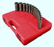 "Sunex Tools 2653 14 Piece Metric Deep Impact Set 10-27Mm 1/2"" Drive"
