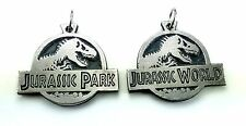 Jurassic Park World Neckalce Pendant doble sided HQ NEW FREE SHIPPING
