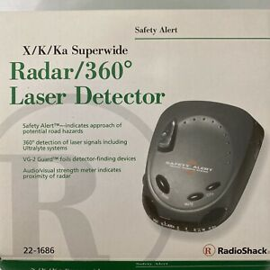 Radio Shack Radar 360 Laser Detector Model No. 22-1686