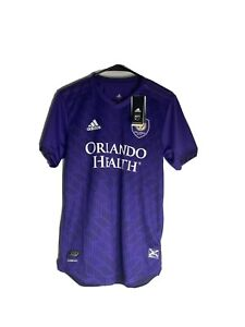 NEW Adidas Authentic 19/20 Orlando City SC Home Jersey Size $120 GE5911