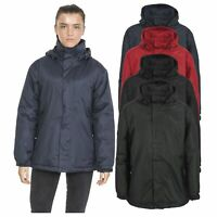 Trespass Womens Waterproof Jacket Padded Everyday Outdoor Hooded Coat