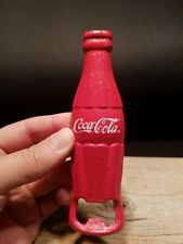 Vintage Style cast Iron Red Coca Cola Bottle Opener