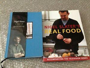 2 x Nigel Slater Cookbooks: Nigel Slater's Real Food & The Kitchen Diaries III