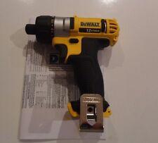 """DEWALT DCF610B 12V 12 Volt Max Lithium Ion 1/4"""" Hex Screwdriver Drill Tool Only"""