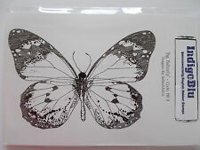 INDIGOBLU CLING  MOUNTED RUBBER STAMP - BIG BUTTERFLY