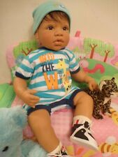 "ADORABLE REVA SCHICK Lee Middleton Reborn Baby Doll ""STARS & STRIPES"" AMAZING!!!"