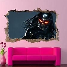 Aliens criatura Depredador Pegatinas de Pared Arte Calcomanía Mural Hogar Decoración Póster de 3D RE6