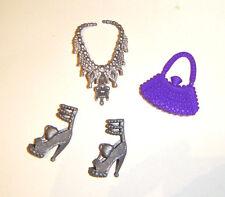 Barbie Dolls Sized Purse/Shoes/Necklace for Barbie Dolls ac001 b