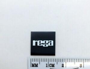 Rega Turntable Badge Logo For Dust Cover Metal Custom Made Free Shipping