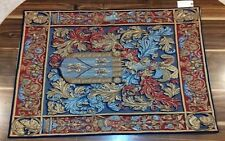 "GENUINE EUROPEAN TAPESTRY BLASON DEBRUGE 38"" X 27"" DESIGN 13477 MIX"