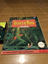 Rare Jeux Super Nintendo Secret Of Mana Fah + Guide