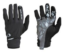 PEARL iZUMI Select Soft Shell Lite Cycling Gloves Long Finger Glove Black Med M