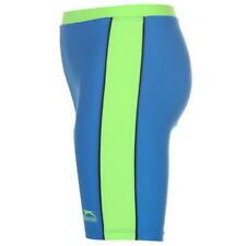 Pantaloncini da nuoto da mare e piscina blu in nylon per bambini dai 2 ai 16 anni