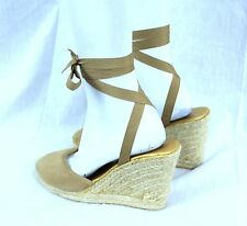 Victoria Secret Size 8 Wrap Around Ankle Wedge Sandal Designed Colin Stuart