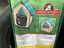 New listing Dawg E Tent by Lucky Dog Portable Dog Tent Model #Dh22424 24�x24�x35� up To 60#